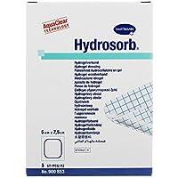 Hydrosorb Wundverband 5x7,5 cm, 5 St preisvergleich bei billige-tabletten.eu