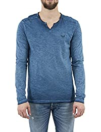 3094866a74b Kaporal - Tee-Shirt à Manches Longues - Ping - Homme