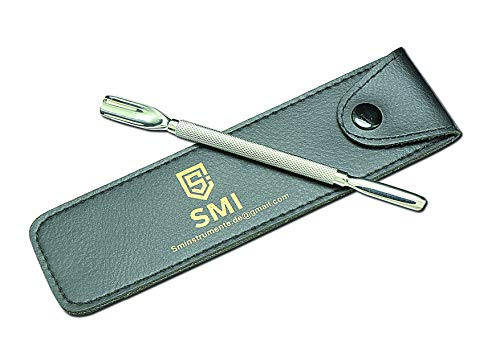 SMI - 13,8 cm empujadores cutícula doble cara removedor