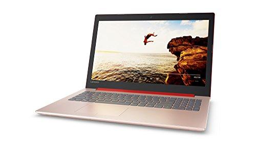 "Lenovo Ideapad 320-15AST - Portátil DE 15.6"" HD (AMD A9-9420, 4GB de RAM, 128GB SSD, AMD Radeon R5, Windows 10 Home), Rojo, [Teclado QWERTY español]"