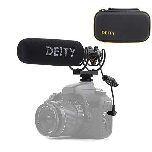 Deity V-Mic D3 Pro Super-Niere Richtungs Schrotflinten Mikrofon mit Kalter Schuh Rycote Shockmount für DSLR-Kamera, Camcorder, Smartphones, Tablets, Handy-Recorder, Laptop- und Taschensender