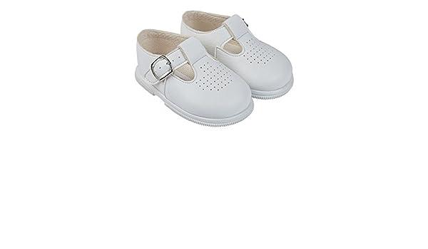 blanc blanc 0-3 mois Baypods fille Chaussures souples pour b/éb/é