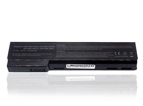 Batteria di Ricambio HSTNN-F08C HSTNN-I90C HSTNN-LB2F CC06XL QK642AA per HP EliteBook 8460w 8560p 8460p ProBook 6360b 6460b 6465b Sostituisce Battery 10.8V 4400mAh