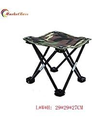 marketboss Ultimate exterior plegable silla de pesca Diseñado Taburete para pesca/Viajes/Camping y otras actividades al aire libre.