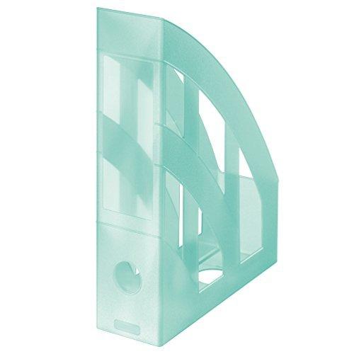Stehsammler / Plastik Stehordner / Farbe: transluzent pastell minze