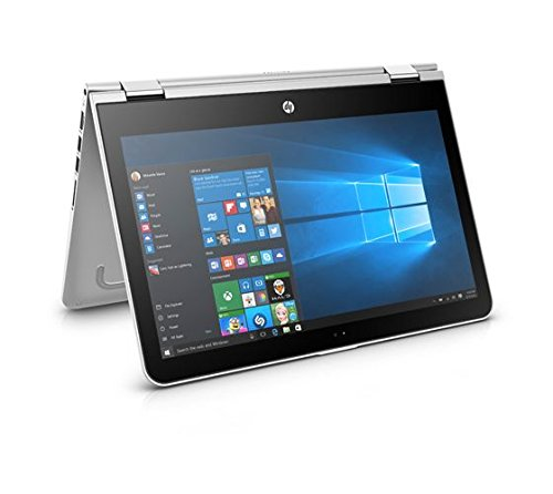 HP Pavilion X360 14 2 In 1 Laptop Core I5-7200 2.5GHz + NVIDIA® GeForce® 940MX 2GB Graphics, 8GB RAM, 1TB HDD, HD WLED Touch, Windows 10, Natural Silver (DOES NOT COME WITH A STYLUS)