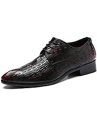 DAN Calzado De Trabajo Para Hombres Zapatos Puntiagudos De Negocios De Cocodrilo Zapatos Casuales Con Mocasines
