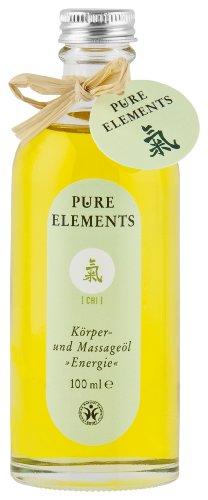 Pure Elements Naturkosmetik Chi Körper- und Massageöl Energie 100 ml