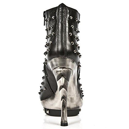 New Rock Stiefelette M.Punk068-S1 schwarz Schwarz