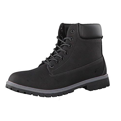 Fila Maverick Mid Black/Black 101014512V, Boots, Black-black (1010145.12v), 42 EU