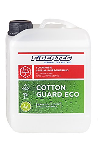 Fibertec Cotton Guard Eco Imprägniermittel, Transparent, 2500 ml