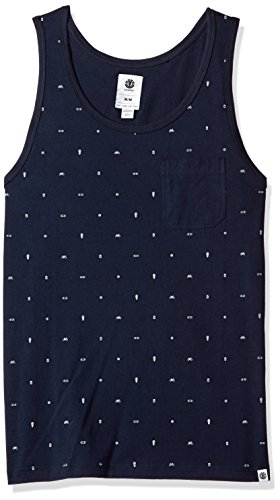 Element Herren Taco Knit Tank Top T-Shirt, Eclipse Navy, Klein -