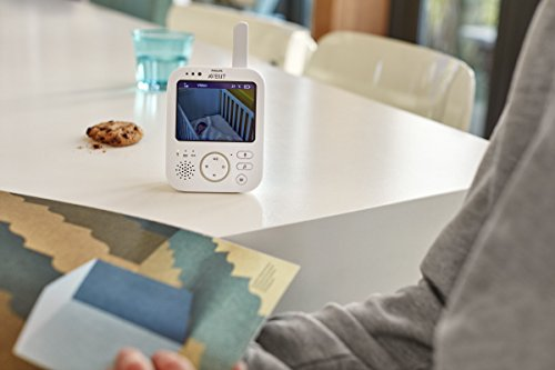 Philips Avent SCD630/26 Video-Babyphone, 3,5 Zoll Farbdisplay -