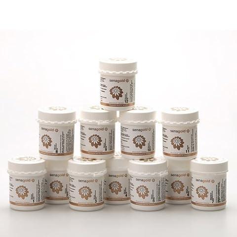 Schüssler Salze Set Nr. 1-12 * glutenfrei * hergestellt nach HAB in Deutschland (12x400 Tabletten)