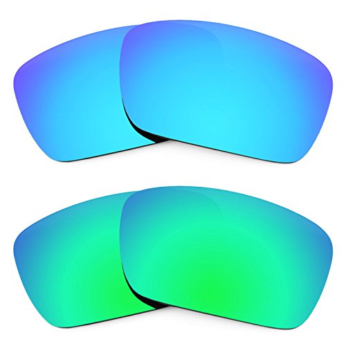 Revant Replacement Lenses for Oakley Fuel Cell 2 Pair Combo Pack K006