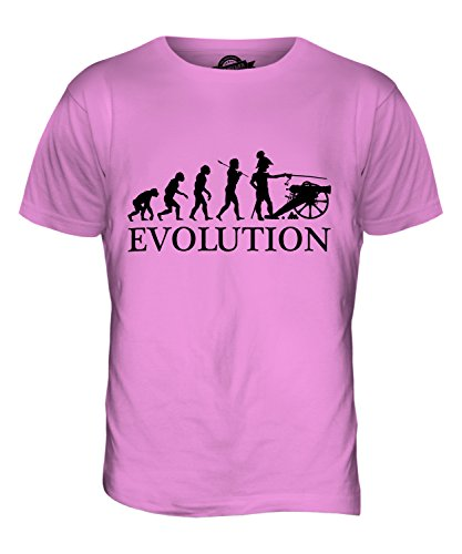 CandyMix Sezessionskrieg Amerikanischer Bürgerkrieg Evolution Des Menschen Herren T Shirt Rosa