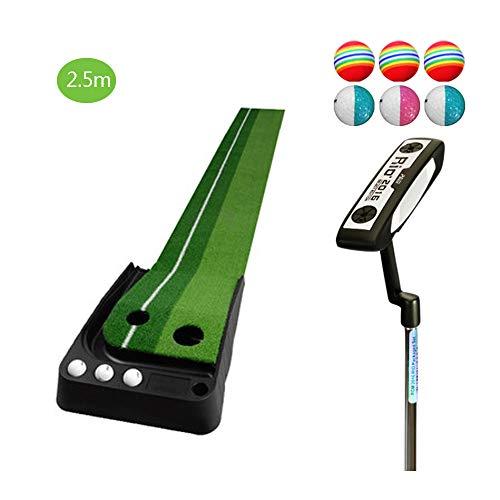 TESITE Set di Tappeti per Esercitarsi con La Pratica del Golf per Adulti (2,5 M * 41 Cm)