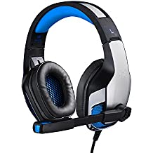 Kotion Each G5300 Over Ear Gaming LED Headset With Mic (Black/Blue)