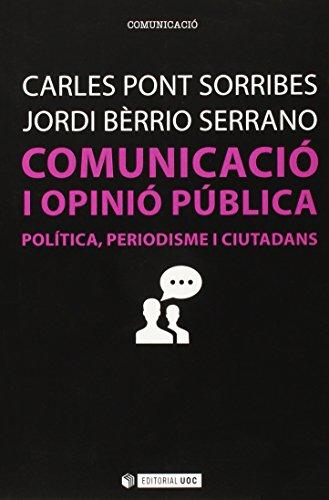 Comunicació i opinió pública (Manuals)