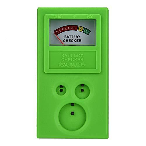 Qkiss Tragbare Knopfbatterie Messgerät Zellenspannung Strom Tester Uhrmacher Werkzeuge Zubehör Uhrmacher (Strom-checker)