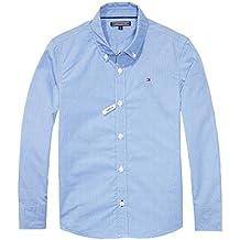 Tommy Hilfiger 0771T Camicia Bimbo Custom Fit Microfantasia Shirt Kid