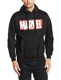 Marvel Comics Core Logo P/O Hood, Sweat-Shirt àCapuche Homme