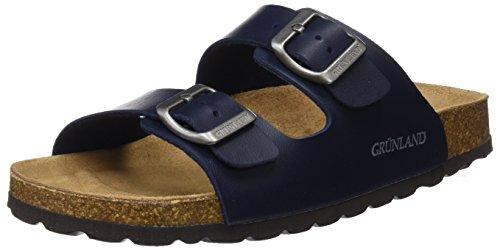 Grunland sara, scarpe da spiaggia e piscina donna, blu (blu), 38 eu