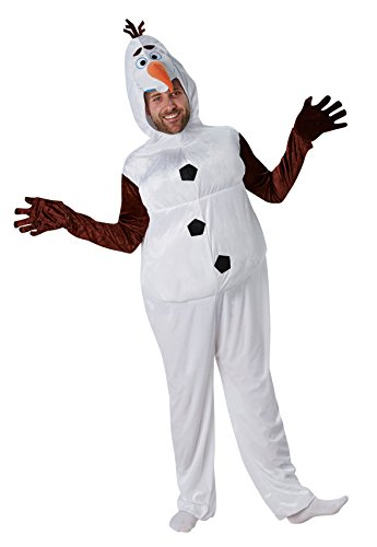 Rubie's 3810823 - Olaf Frozen - Adult, Action Dress Ups und Zubehör, XL