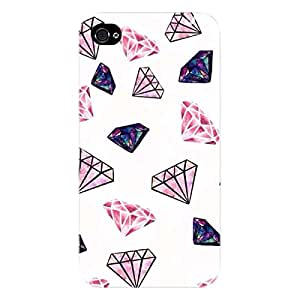 EYP Diamond Back Cover Case for Apple iPhone 4S