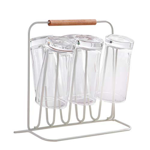 LoKauf Metall Abtropfständer Flaschen Abtropfhalter Flaschen Getränkehalter Küche Tassenhalter Glas Kleiderbügel