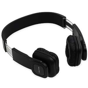 Auna KUL-03 Cuffie Bluetooth senza fili con vivavoce Soft Leather (Chiamate a 3 vie, Microfono integrato, 10 ore di autonomia)