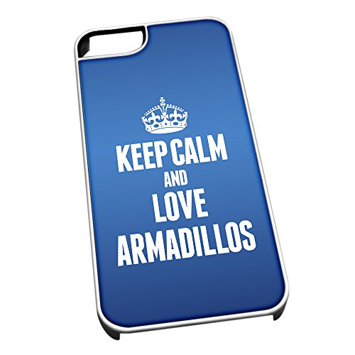 colore-bianco-per-iphone-5-5s-blu-2391-keep-calm-and-love-armadilli