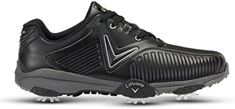 Callaway Chev Mulligan Zapatillas de Golf, Hombre, Negro (Black/Lima), 48 EU