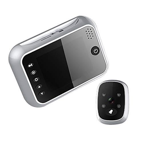kesoto Multifunktions Smart Türklingel HD Kamera Video mit Intercom System - Silber (Tür Kamera Intercom-system)