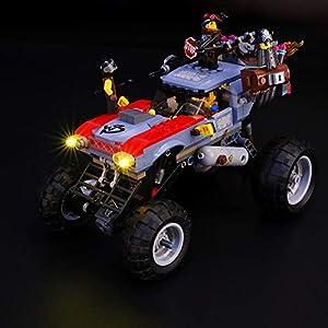 BRIKSMAX Kit di Illuminazione a LED per Lego Buggy fuggi-fuggi di Emmet e Lucy, Compatibile con Il Modello Lego 70829… Lego Outlet LEGO