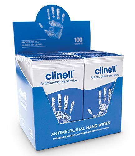 Clinell Antibacterial Hand Wipes...