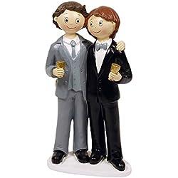 Figura Tarta Novios Gay