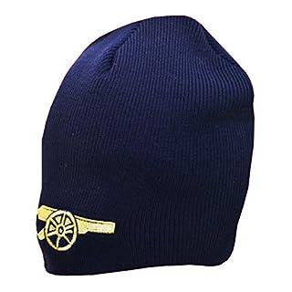 Arsenal Strickmütze Marineblau Offizielle Arsenal Football Club Crest