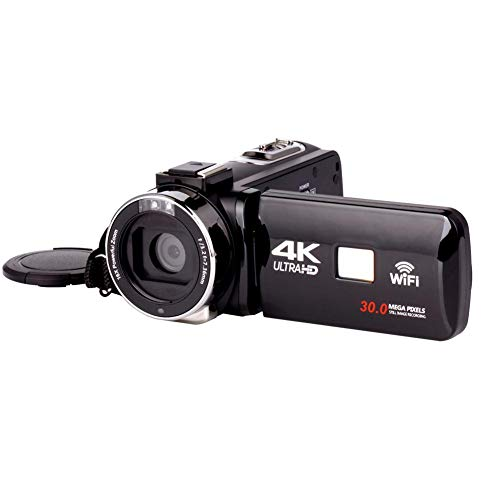 seasaleshop Full HD Camcorder Digitalkamera Outdoor Hochzeit Hause Handheld DV Professionelle Nachtaufnahme Kamera (Full HD Video, 16x Opt. Zoom,30 Millionen Pixel, WiFi