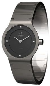 Reloj Obaku Harmony de cuarzo para mujer con correa de titanio, color plateado de Obaku Harmony