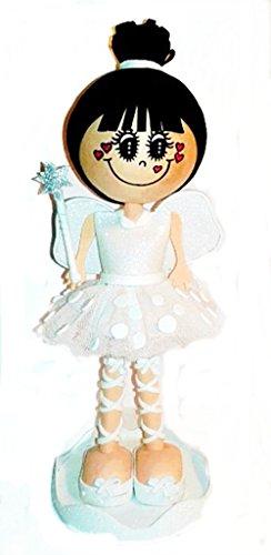 Muñeca Personalizada Fofucha Campanilla Blanca