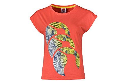 Canterbury Ccc Graphic T-Shirt Femme Orange