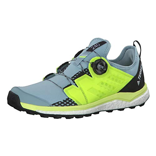 adidas Damen Terrex Agravic Boa W Cross-Trainer, Grau Ash Grey S18/Solar Yellow/Core Black, 38 2/3 EU