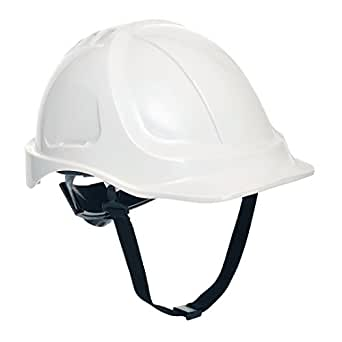 Portwest PS54WHR Elmetto Edurance Plus Fluo, Bianco, 56-63