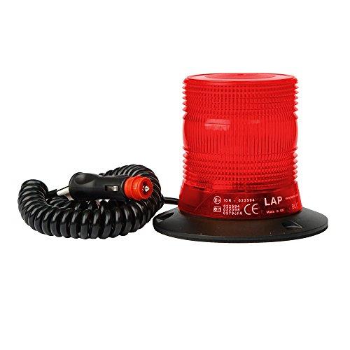 LED Compact Rundumleuchte - rot - Magnetfuß - super hell & robust