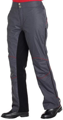 Harry Hall Ambleside Sur-pantalon d'équitation gris graphite