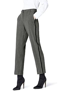 FIND Pantalón de Cuadros para Mujer