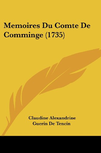 Memoires Du Comte de Comminge (1735)