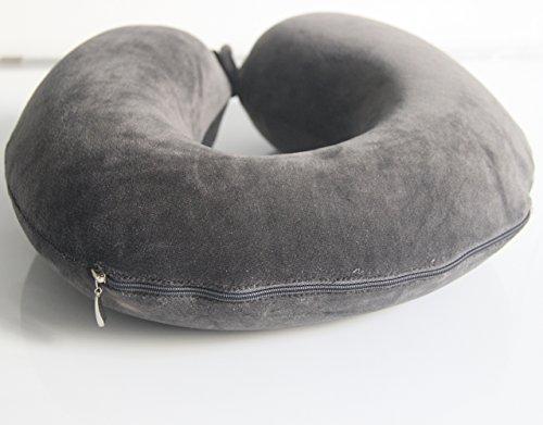 Alk en forme de u en mousse à mémoire oreiller avec tête support