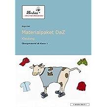 Materialpaket DaZ: Kleidung (CD-ROM): Grundschule, Deutsch als Zweitsprache, DaZ, Klasse 1-4